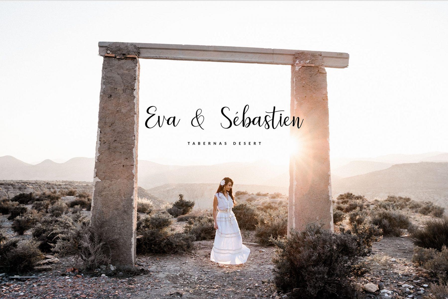 Elopement at Tabernas Desert - Eva & Sébastien 1