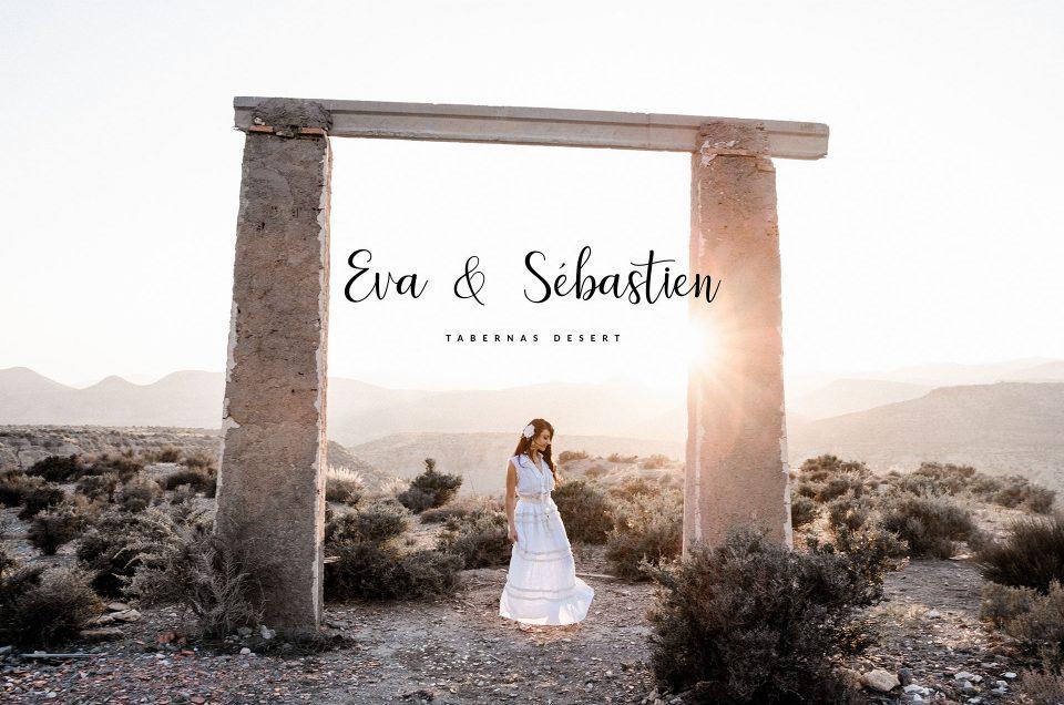 Elopement at Tabernas Desert – Eva & Sébastien